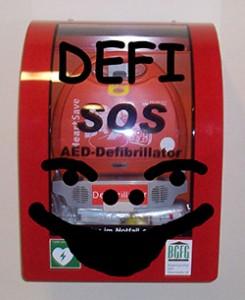 Defibrillator im Nachbarhaus