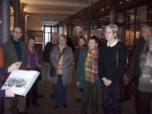 Niendorfer Expedition ins Museum der Arbeit 8.2.13, Foto: W. Schwarz
