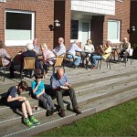 Terasse zum Filmfest 2013, Niendorfer Nachbarn 04