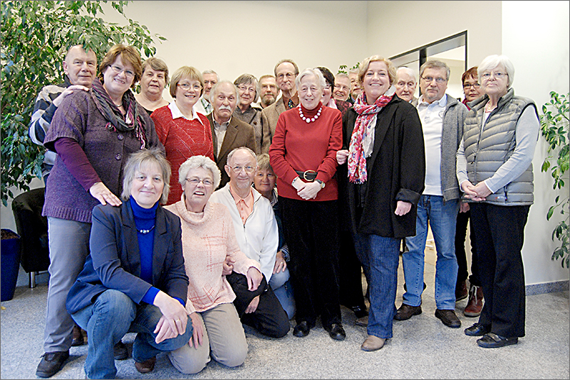 Das Orgateam des Nachbarhauses in Niendorf