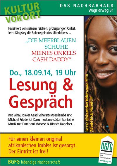 Zettel Lesung Niendorf am 18.9.14