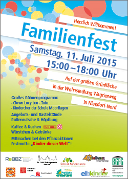 Familienfest in Niendorf-Nord am 11. Juli 2015