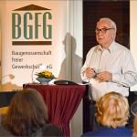 2015 Kultur vor Ort / Lesung in Niendorf Nord / Toskana, Foto: BGFG