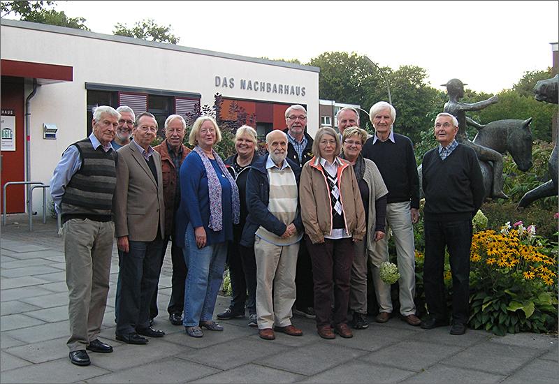Vertreterinnen und Vertreter der BGFG in Niendorf, 2015