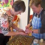 Weihnachtsbäckerei im NACHBARHAUS 2015