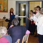 """Klöncafé in Nendorf Nord und der Chor """"Haste Töne?"""""""