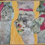 Collage mit Gesichtern