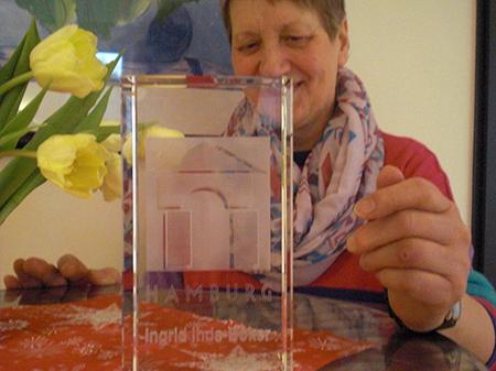 Genossenschaftsaward für Ingrid Ihde-Böker, 2016
