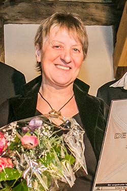 2016 Preisverleihung Gemossenschaftsaward für Ingrid Ihde-Böker, Foto: Jochen Quast