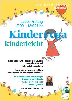 ab Januar 2017 Kinderyoga im Nachbarhaus Niendorf-Nord