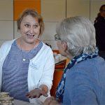 2017 Besuch der Freiwilligen der BGFG bei der Neuen GeWoGe, Fotos: BGFG