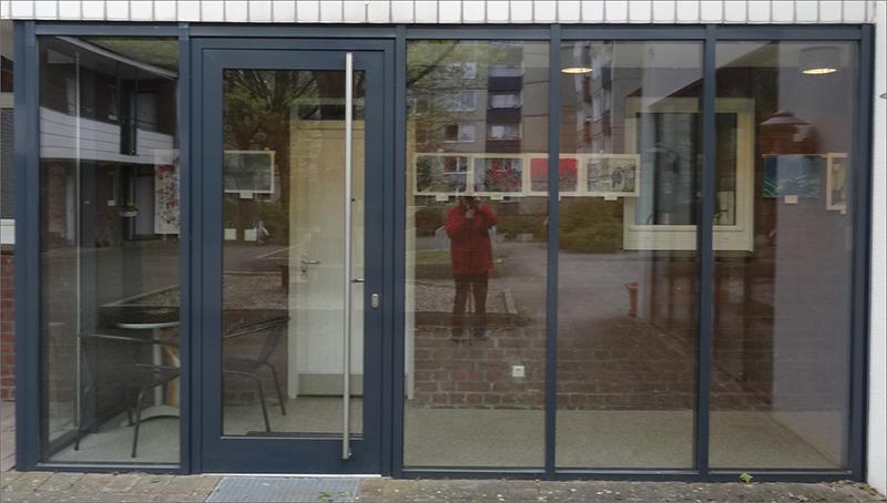 Malgruppe im Nachbarhaus / Niendorfer Nachbarn / Wolfgang Schwarz _WS