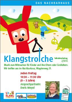2019 Klangstrolche / mit Doris im Nachbarhaus Niendorf Nord
