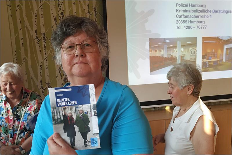 Infoveranstaltung mit der Polizei / Foto: BGFG