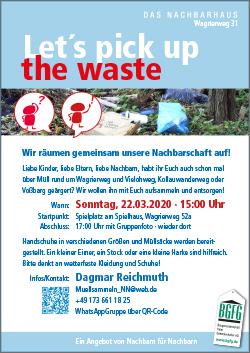 Niendorf Nord räumt auf / Hamburg räumt auf / März 2020 / Mitmachaktion