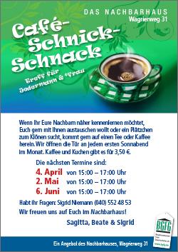 Klöncafe Niendorf / Café Schnick-Schnack / Das Nachbarhaus